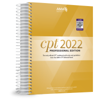 AMA CPT® 2022 Professional Edition