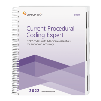 2022 Current Procedural Coding Expert – Expert